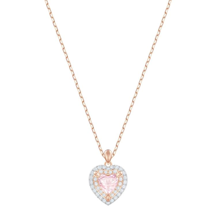 Swarovski One Collection Heart Necklace 5439314