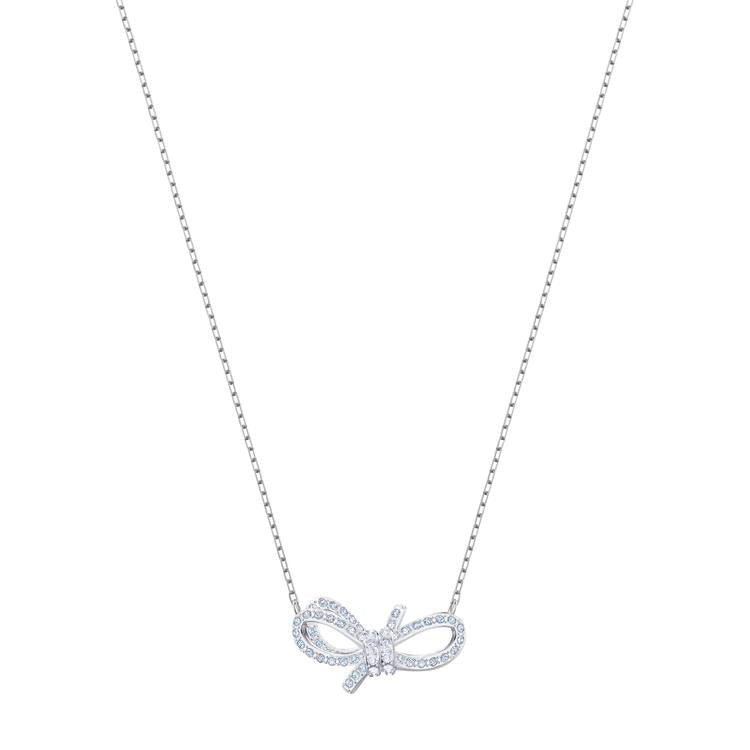 Swarovski Lifelong Bow Silver Necklace 5440643