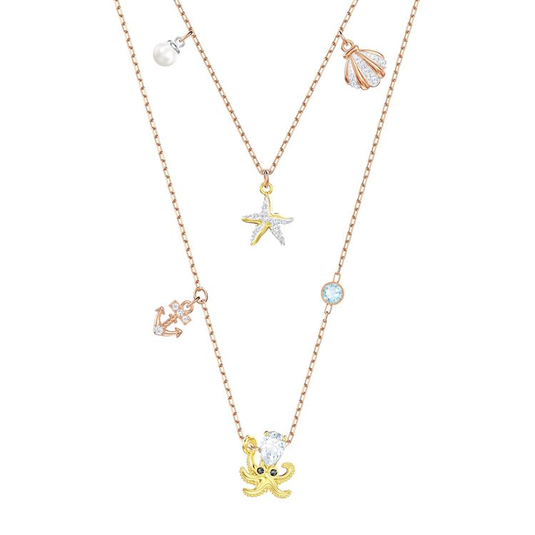 Swarovski Ocean Necklace Summer Charms 5446664