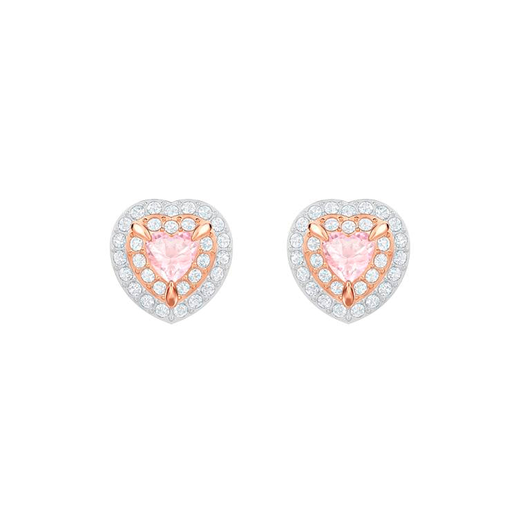Swarovski One Collection Heart Earrings 5446995