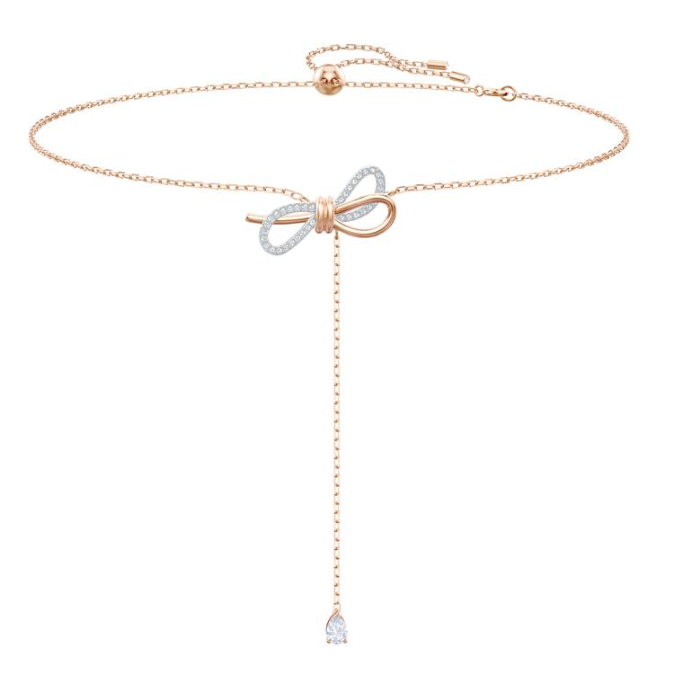 Swarovski Lifelong Bow Y Necklace 5447082
