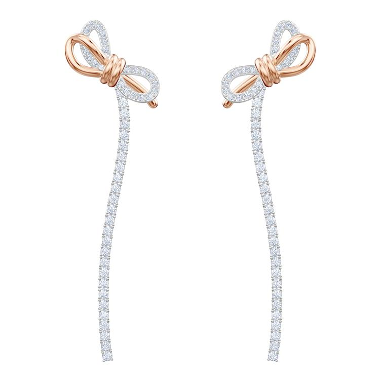 Swarovski Lifelong Bow Long Earrings 5447083