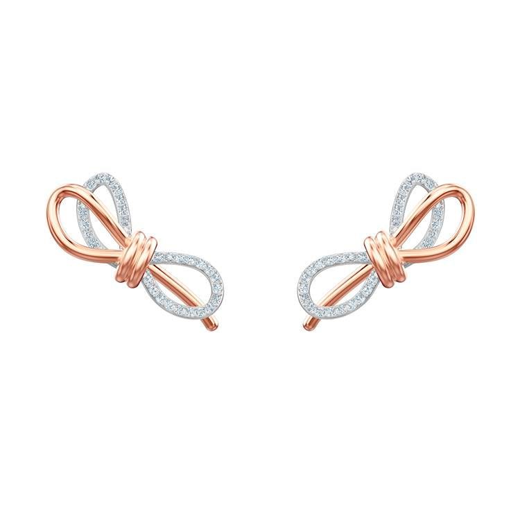 Swarovski Lifelong Bow Earrings 5447089