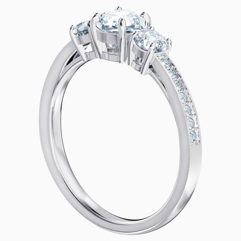 Swarovski Attract Trilogy Channel Set Ring