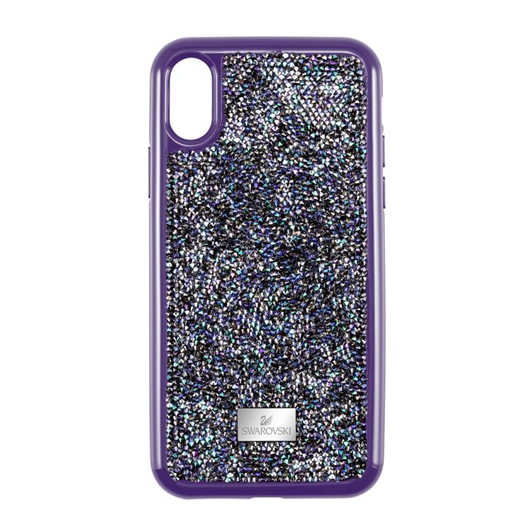 Swarovski Glam Rock Shimmering Purple iPhone Case