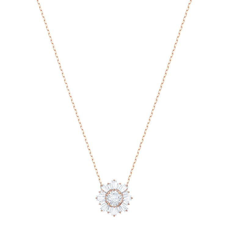 Swarovski Sunshine Rose Gold Necklace 5451376