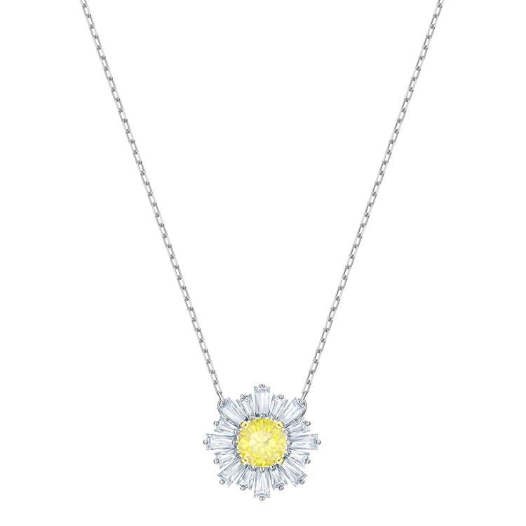 Swarovski Sunshine Yellow Crystal Necklace 5459588