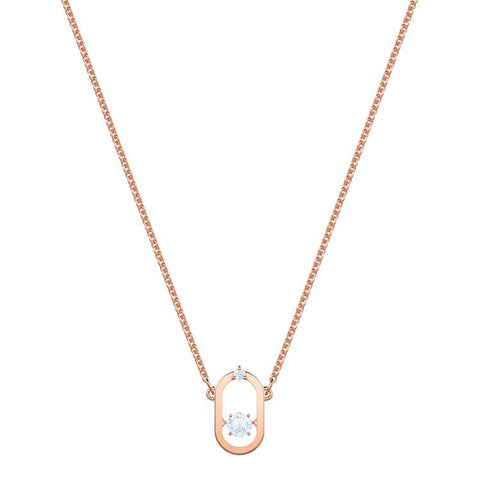 Swarovski North Necklace Rose Gold 5468084