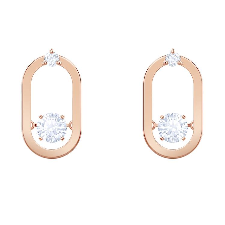 Swarovski Sparkling Dance Oval Earrings 5468118
