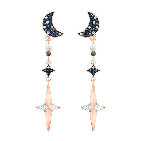 Swarovski Symbolic Star Rose Gold Earrings 5489533