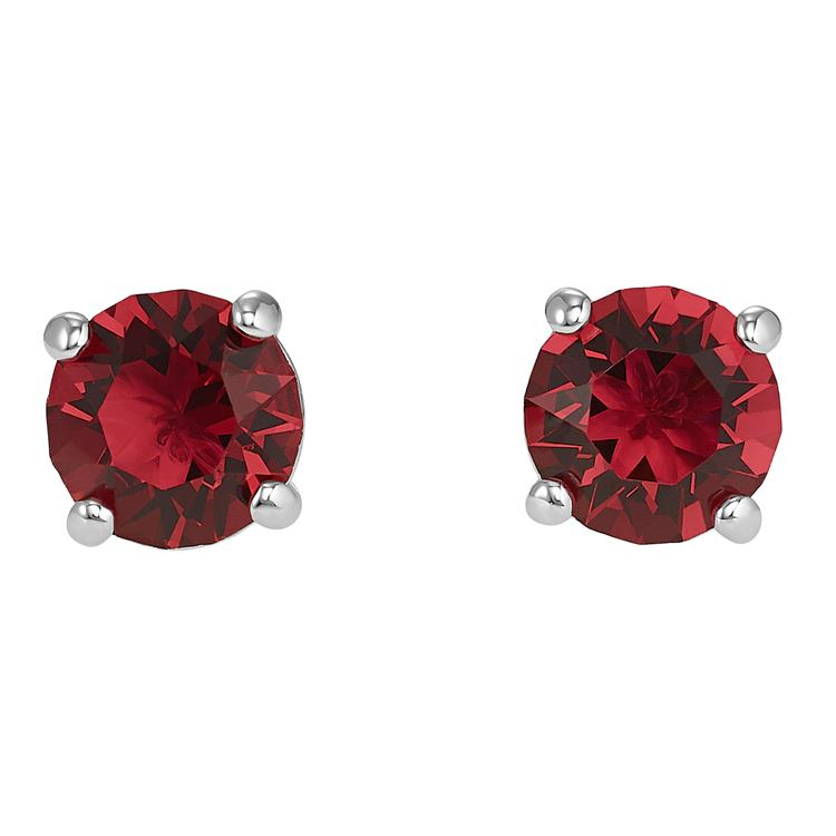 Swarovski Attract Red Stud Earrings 5493979