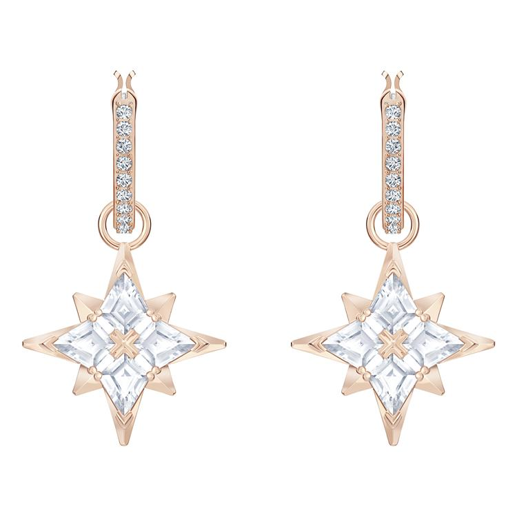 Swarovski Symbolic Star Hoop Earrings 5494337
