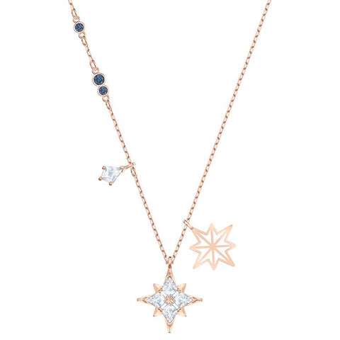 Swarovski Symbolic Star Rose Gold Necklace 5494352