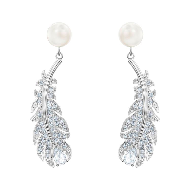 Swarovski Nice Pearl Drop Earrings 5496052