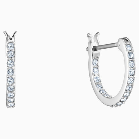 Swarovski Polar Bestiary Hoop Dangle Earrings 5500223