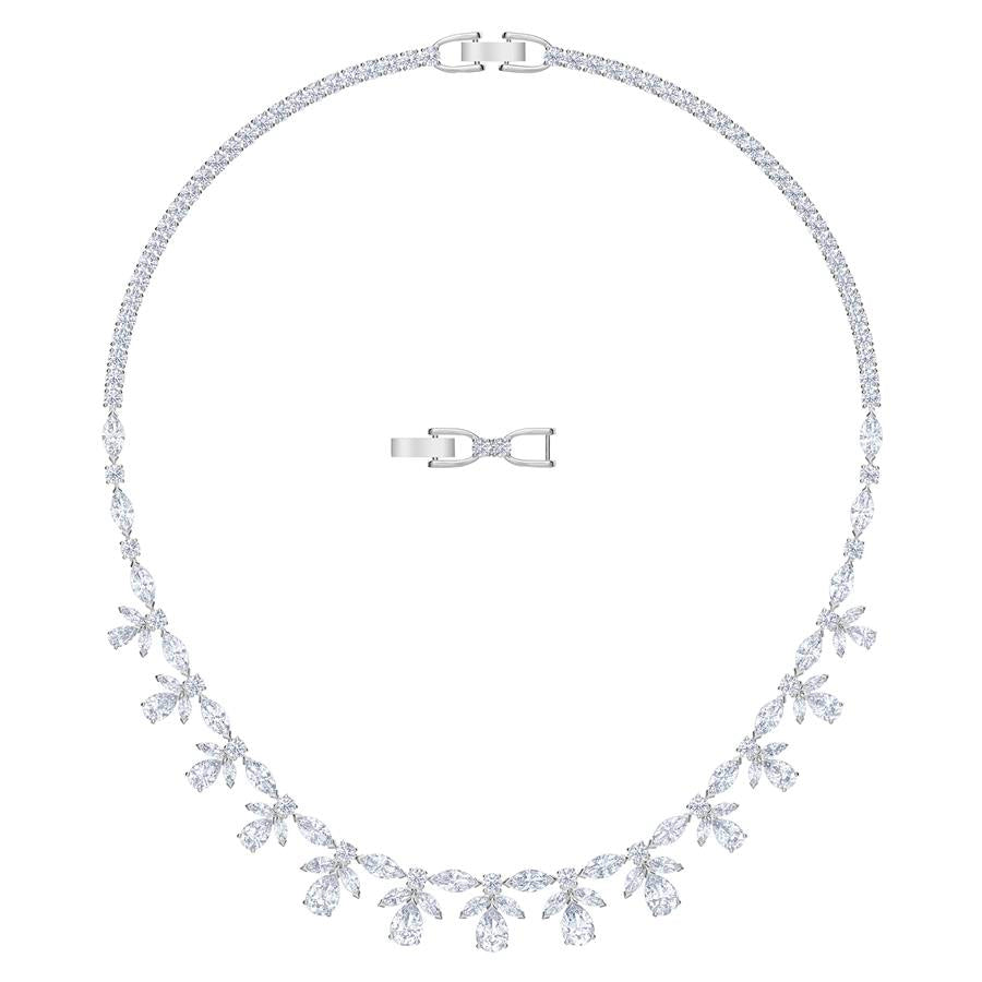 Swarovski Palace Necklace Rhodium Plated 5505495