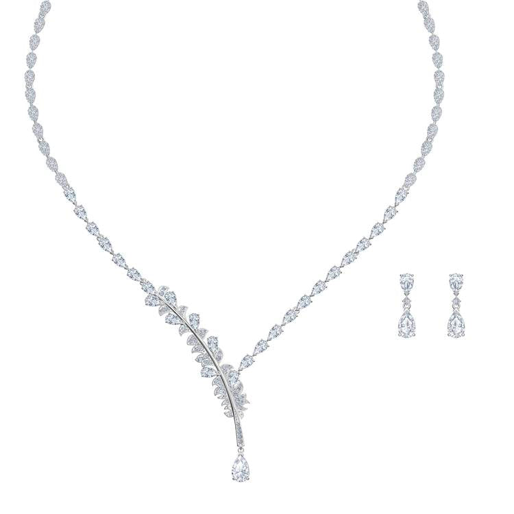 Swarovski Nice All-Around Necklace Earrings 5506752