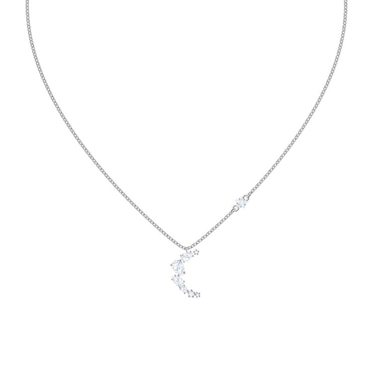 Swarovski Moonsun Moon Silver Necklace 5508442