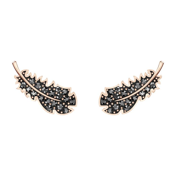 Swarovski Naughty Feather Stud Earrings 5509722
