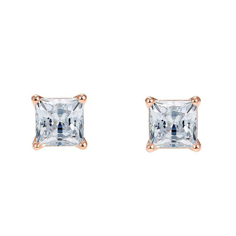 Swarovski Attract Square Rose Gold Earrings 5509935
