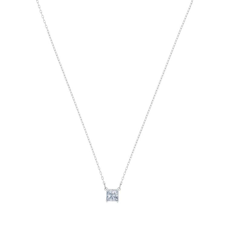 Swarovski Attract Square Crystal Necklace 5510696