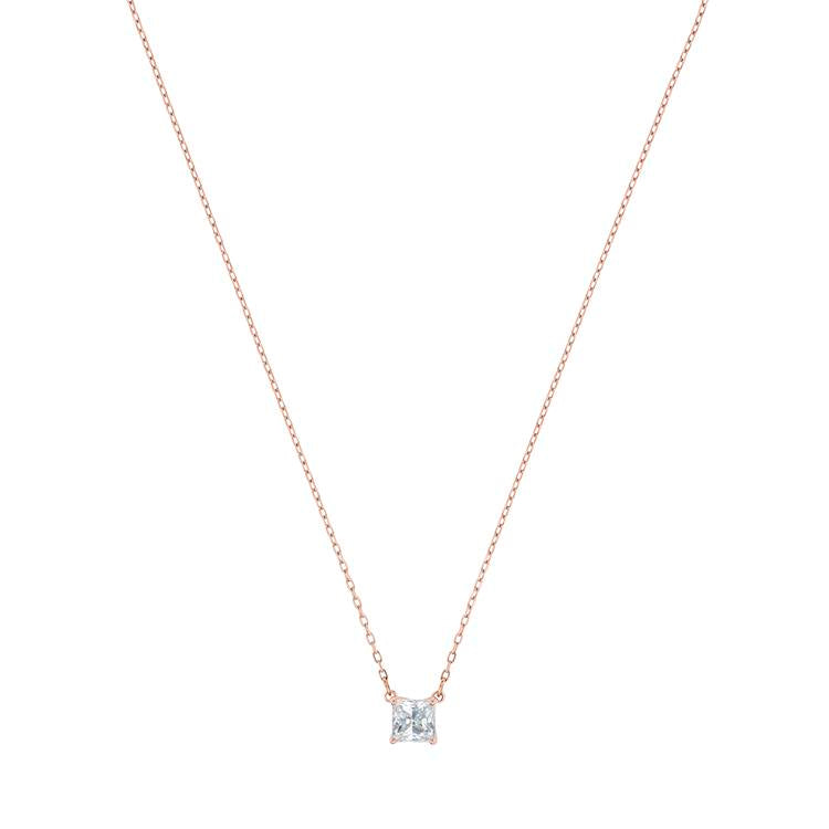 Swarovski Attract Necklace Rose Gold 5510698