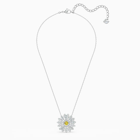 Swarovski Eternal Flower Yellow Necklace 5512660