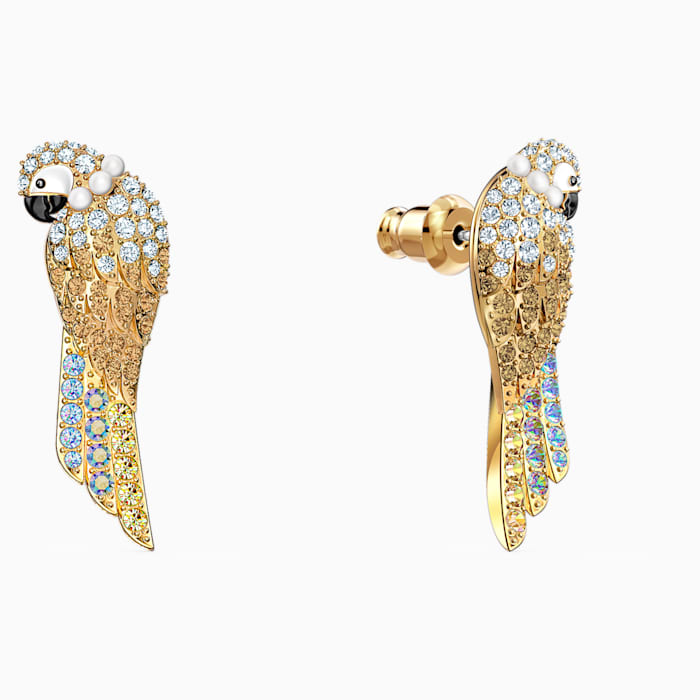 Swarovski Tropical Parrot Long Earrings 5512708
