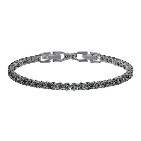 Swarovski Tennis Grey Ruthenium Bracelet 5514655