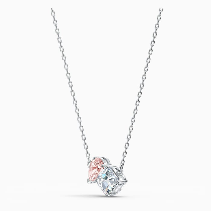 Swarovski Attract Soul Necklace Pink White 5517115