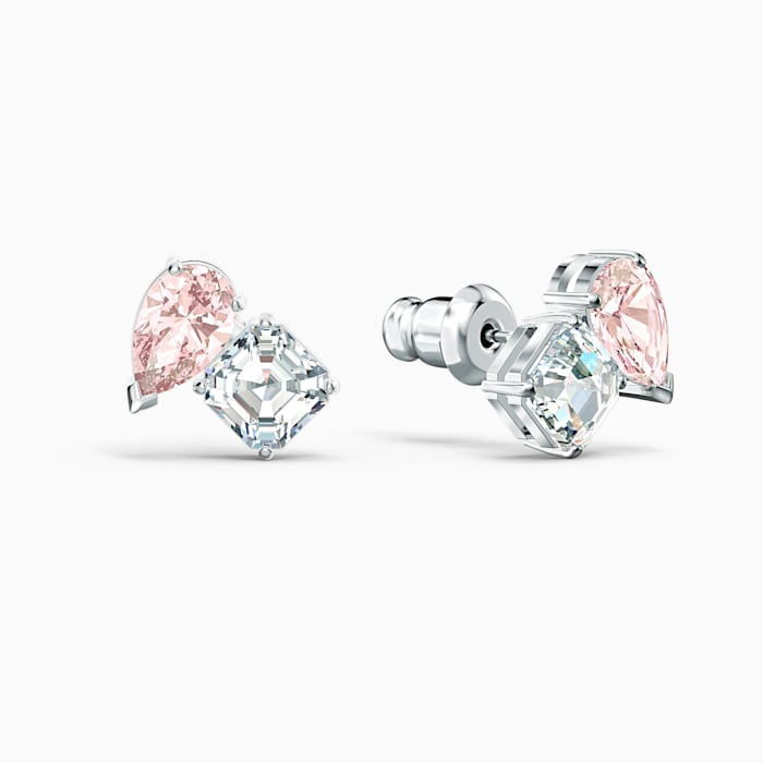 Swarovski Attract Soul Stud Earrings Pink 5517118