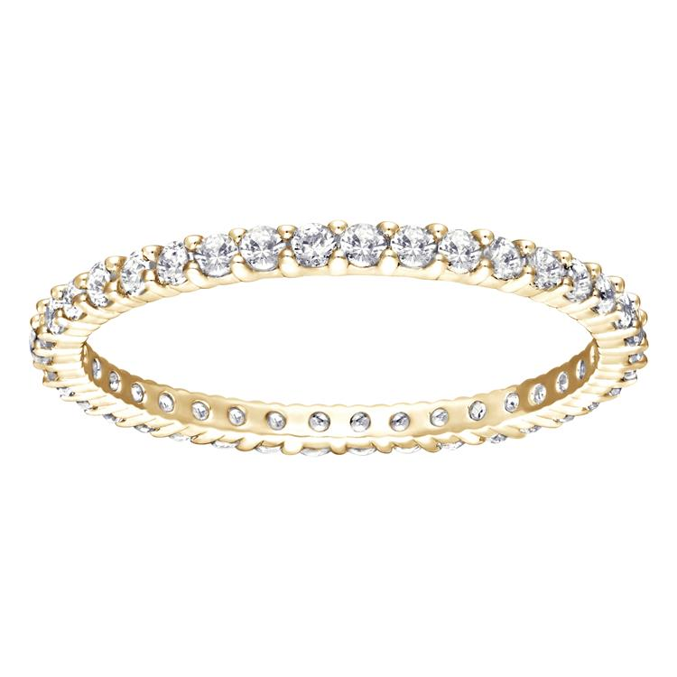 Swarovski Vittore White Full Eternity Gold Ring