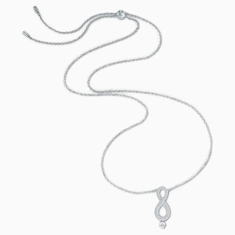 Swarovski Infinity Silver Rhodium Necklace 5537966