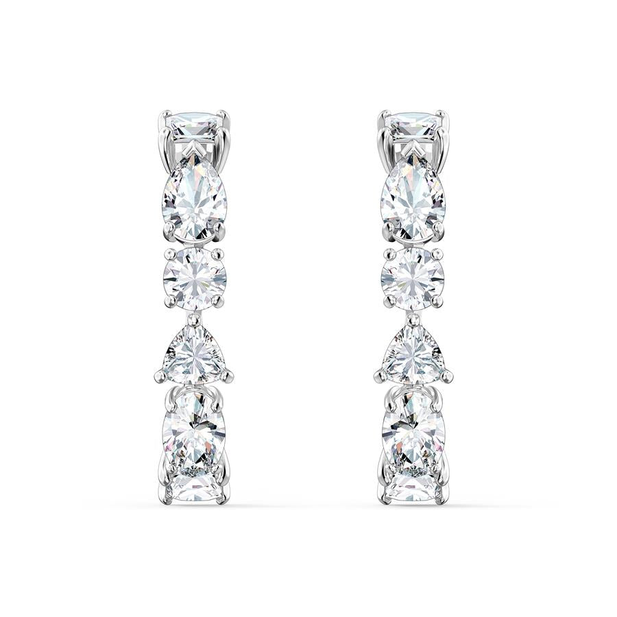 Swarovski Tennis Deluxe Earrings Rhodium 5563322