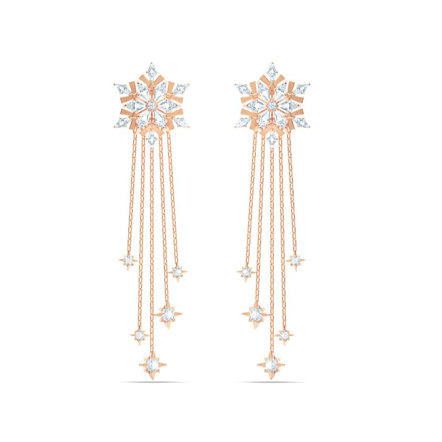 Swarovski Magic Drop Earrings Rose Gold 5566674