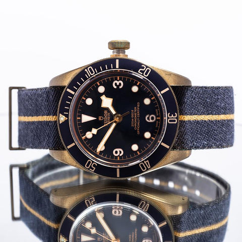 Pre-Owned Tudor Heritage Black Bay Bronze