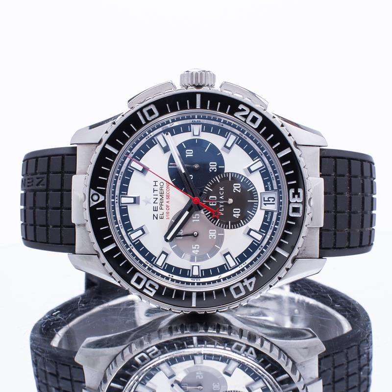 Pre-Owned Zenith El Primero Stratos Flyback Striking 10th 03.2062.4057