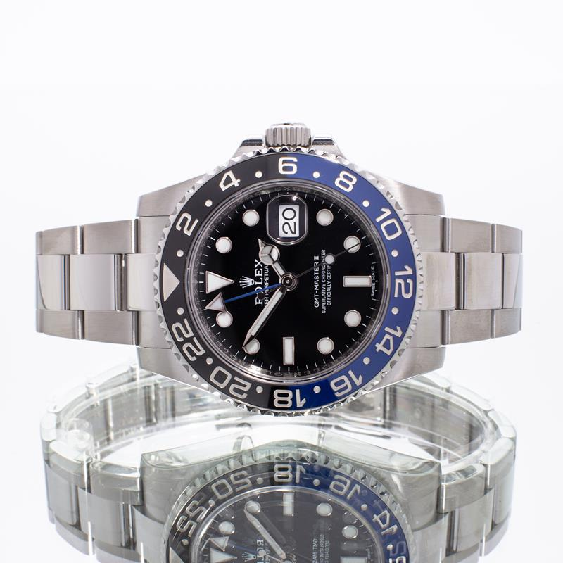 Pre-Owned Rolex GMT-Master II 116710BLNR