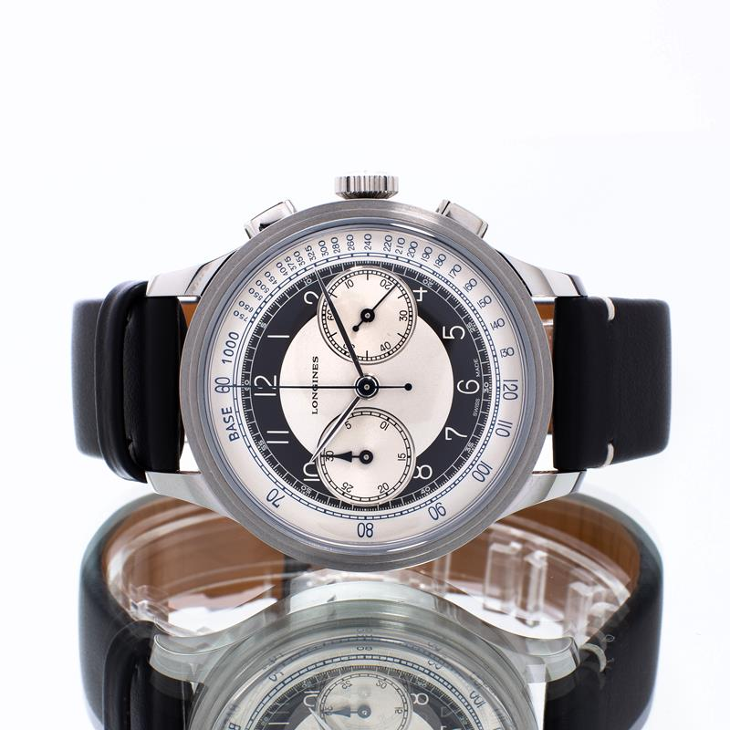 Pre-Owned Longines Heritage Classic Chronograph L28304930