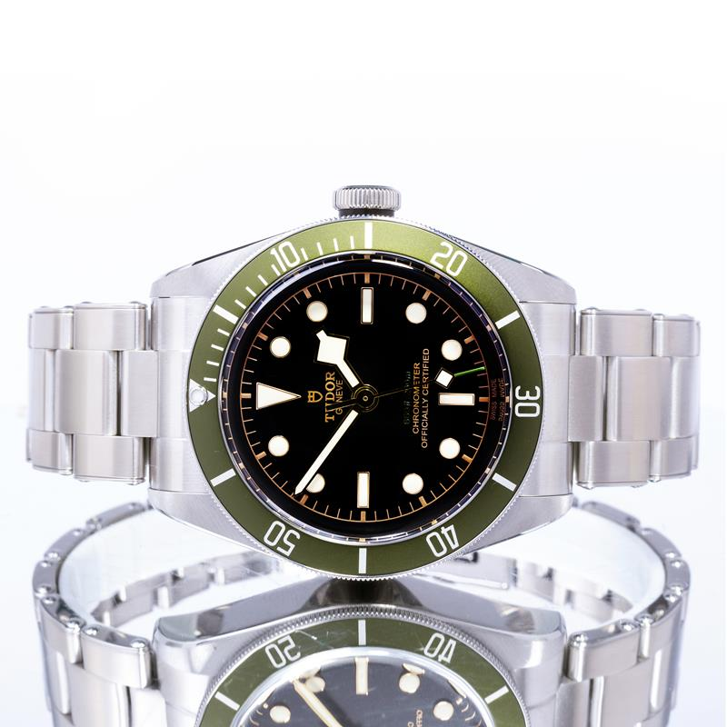 "Pre-Owned Tudor Black Bay ""Harrods"" 79230G"