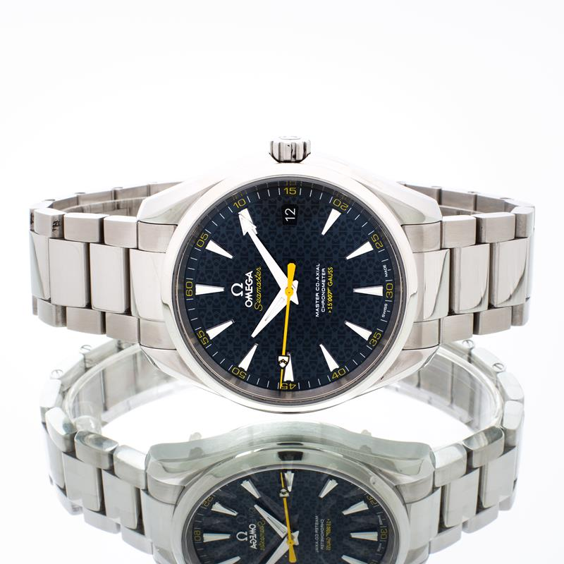 Pre-Owned Omega Seamaster Aqua Terra James Bond 23110422103004