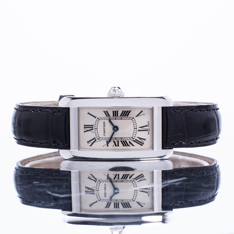 Pre-Owned Cartier Tank Americaine W2601956