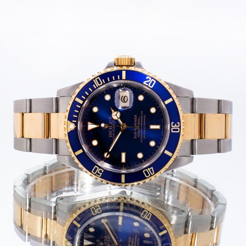 Pre-Owned Rolex Submariner Date 16613