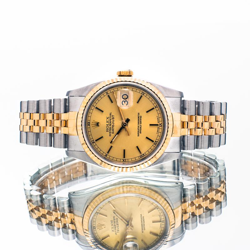 Pre-owned Rolex Datejust 36 16233