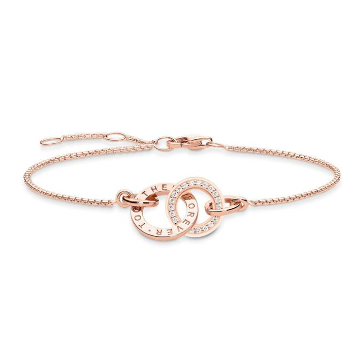 Glam & Soul Together rose gold bracelet