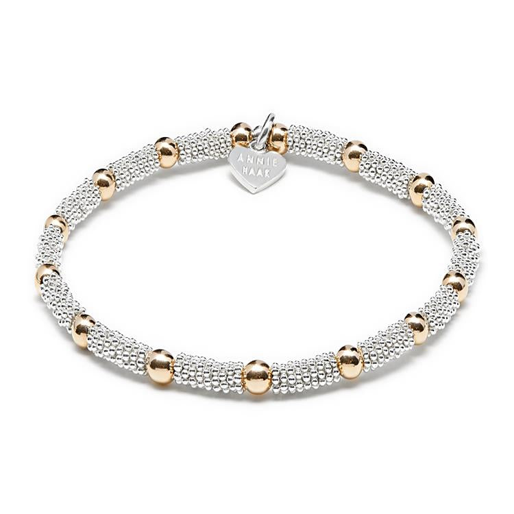Annie Haak Frankie's Gold and Silver Bracelet