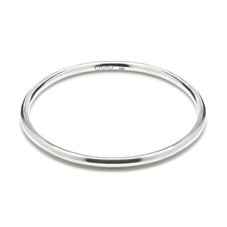 Annie Haak Bahari Silver Rigid Bangle Bracelet