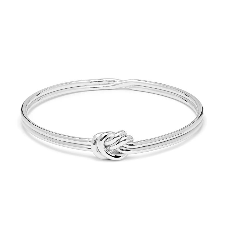 Annie Haak Lover's Knot Sterling Silver Bangle