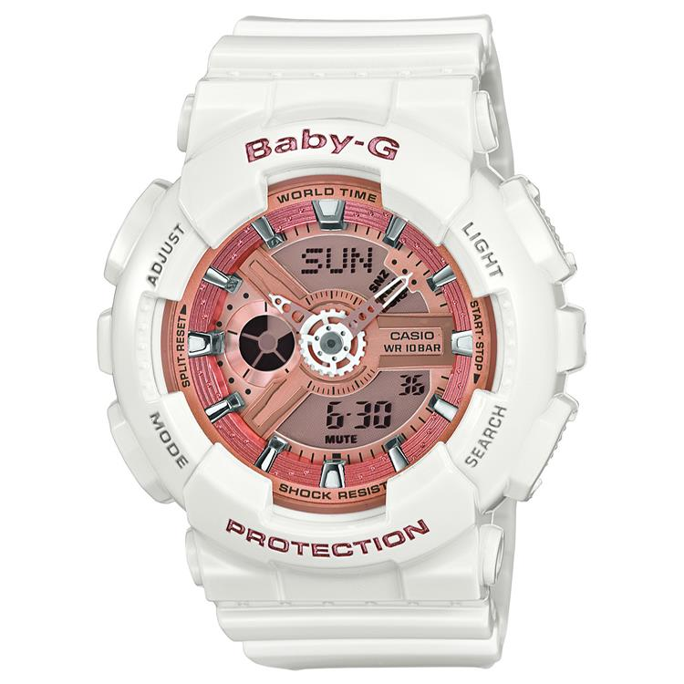 Casio Baby G Ladies Strap Watch BA-110-7A1ER