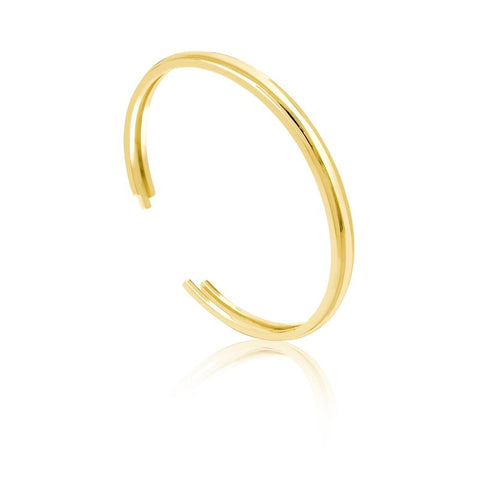 Achara Open Ribbed Chunky Bangle